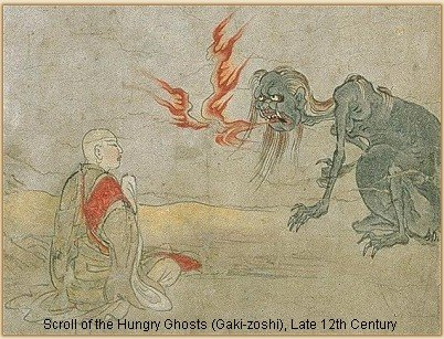 Why Hungry Ghosts Must Keep Flying